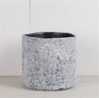 Kruka cement, gråblå