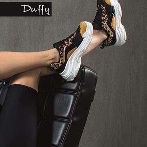 Duffy Chunky Sneaker Leopard