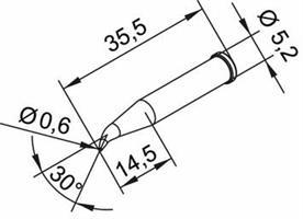 Tip Ersadur 0,6mm Pencil, Long