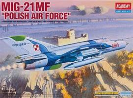 MIG-21 MF Polish Airforce