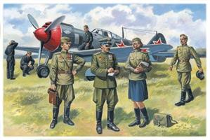 Soviet Air Force Pilots and Ground Personnel (1943