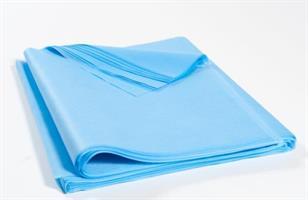 Bänkpapper 400st 60x100cm ljusblå, halvkropp