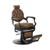 Barberarstol Brun / Svart 11201D