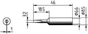 Tip Ersadur 3,2mm Chisel shape