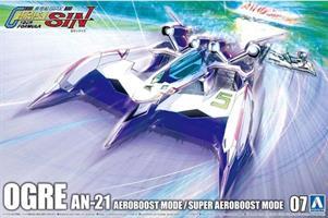 Cyber Formula SIN Ogre AN-21 Aero Boost Mode