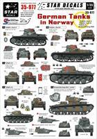 German Tanks in Norway
