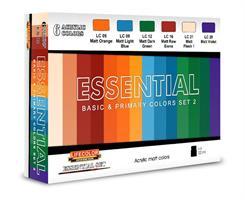 Essential Basic & Primary Colors Set 2