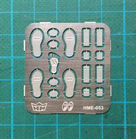 MOONEYES foot pedal set