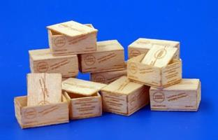 U.S.Wooden crates for cigarettes-WWII.-Type I.