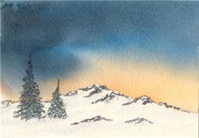 Åse Juul - Stemning i fjellet