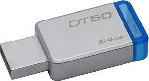 USB-MINNE, KINGSTON DT50, 64GB