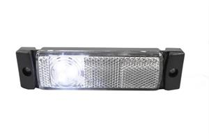 Positionsljus LED Vit 12/24V