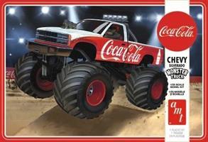 Coca-Cola Chevy Silverado Monster Truck