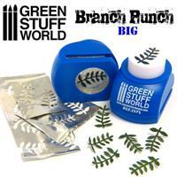 Miniature Leaf Punch DARK BLUE