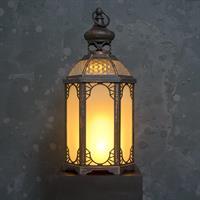LED lykta, romantisk