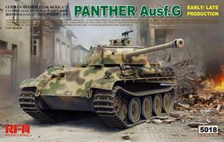 Panther Ausf.G Early / Late Production