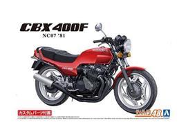 Honda CBx400F Monza Red