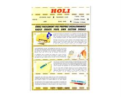 Dekal papirfilm / Transparang / Laser