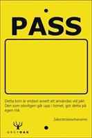 PASSKYLT JAKTTORN 10x15cm 10-p