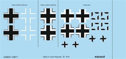 Fw 190A-3 national insignia
