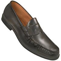 Black dance loafers