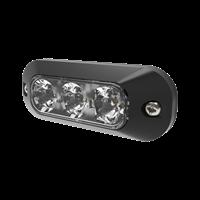 LED varningsljus 3 dioder gul