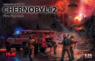 Chernobyl #2 Fire Fighters AC-40-137A Firetruck +