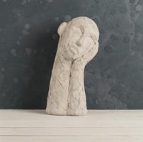 Huvud drömmande, cement