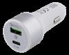 CIGG-ADAPTER, 3+6A, USB-C+USB-A, 36W