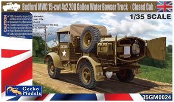 Bedford MWC 15-cwt 4x2 200 Gallon Water Bowser Tru
