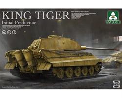 WWII German Heavy Tank King Tiger Inital productio