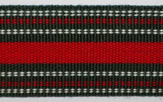Herrebånd - Grønn, hvit og rød