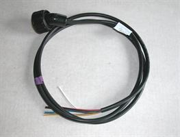 Kabel 7 pol grön, öppen ände 5,0 m