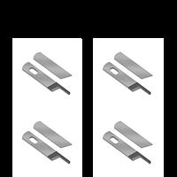 Overlockkniv, slipning 4 par