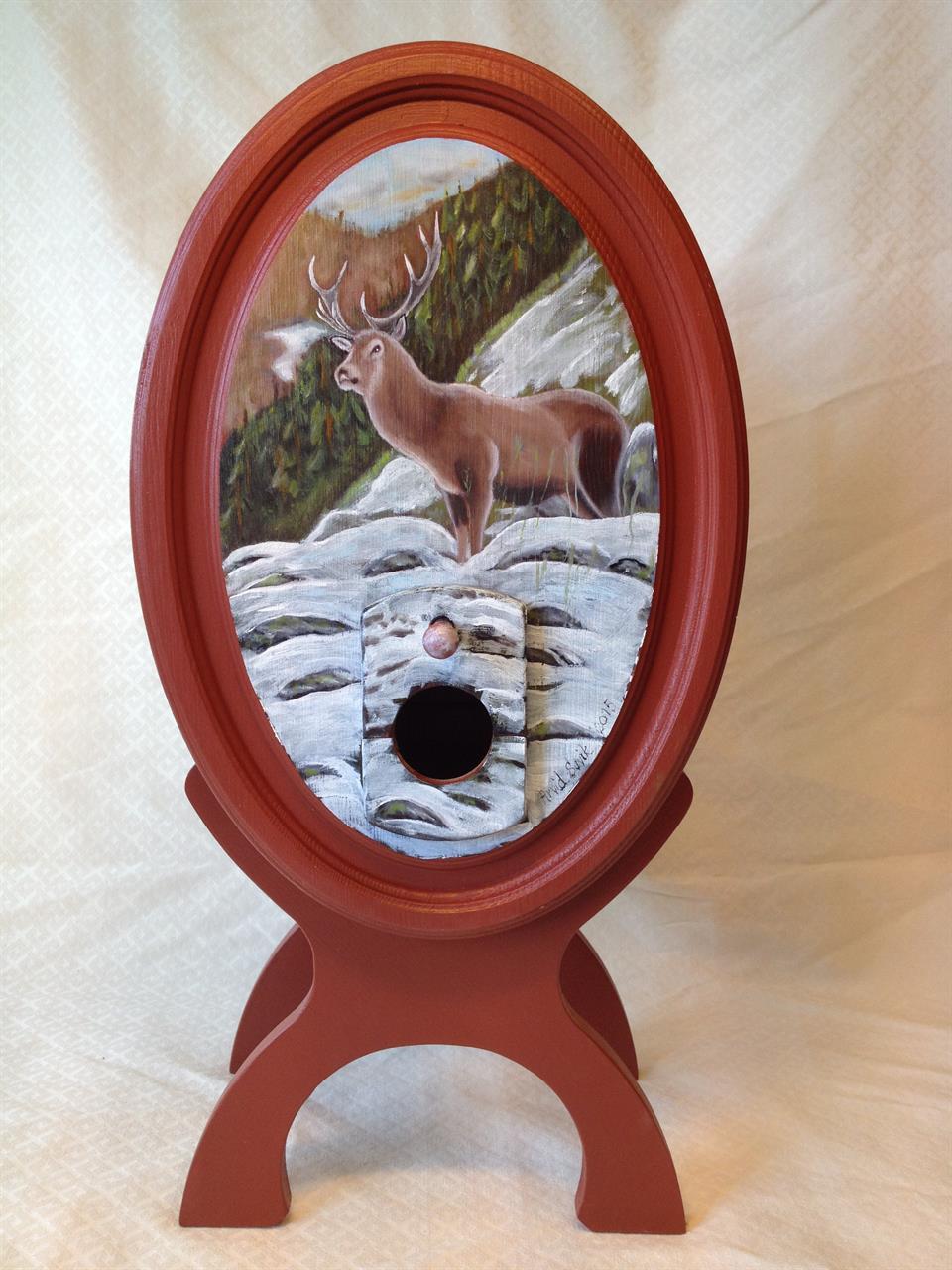 Vintønne med hjort