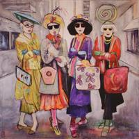 Tone Flesche-Shopping in N.Y