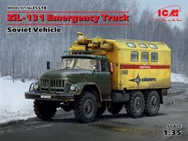 ZiL-131 Emergency Truck, Soviet Vehicle