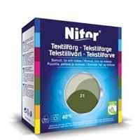 Nitor Tekstilfarge, Oliven 21