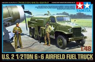 U.S. 2 1/2TON 6x6 AIRFIELD FUEL TRUCK