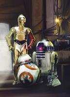 Komar fototapet Star Wars Three Droids