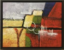 B.Russell - Abstrakt maleri 3