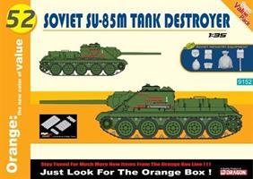 Soviet SU-85M Tank Destroyer w/soviet infantry equ