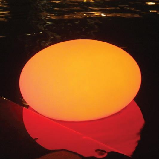 LED-Belysning Flytande Sten