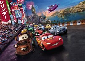 Komar fototapet Disney Cars Race