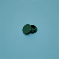 Täckplugg Ø14mm, Grön 100St