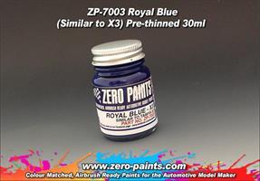 Royal Blue Paint 30ml