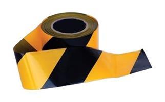 Varningsband gul/svart