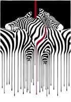 Liz Ravn - Dripping zebras