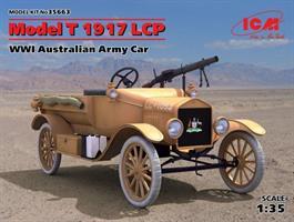 Model T 1917 LCP WWI Australian Army Car