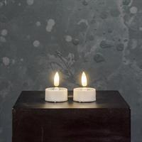 Värmeljus LED 4-p, 3D-låga